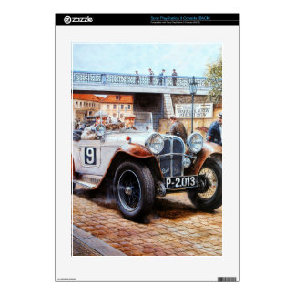 Jalopy racing car painting PS3 console decals