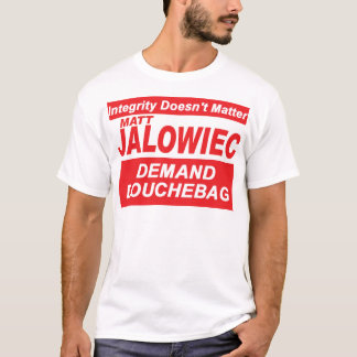 Jalowiec 2010 Campaign Sign DB T-Shirt