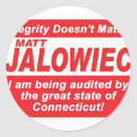 Jalowiec 2010 Campaign Sign southington Stickers