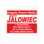 Jalowiec 2010 Campaign Sign SS Truck Post Cards