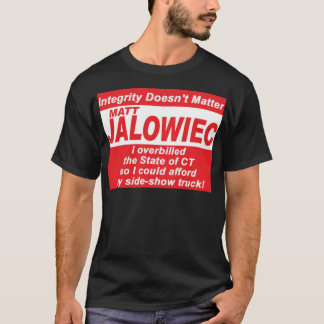 Jalowiec 2010 Campaign Sign SS Truck T-Shirt