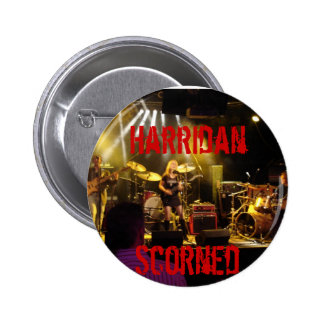 jam (13), Harridan, Scorned Pinback Button