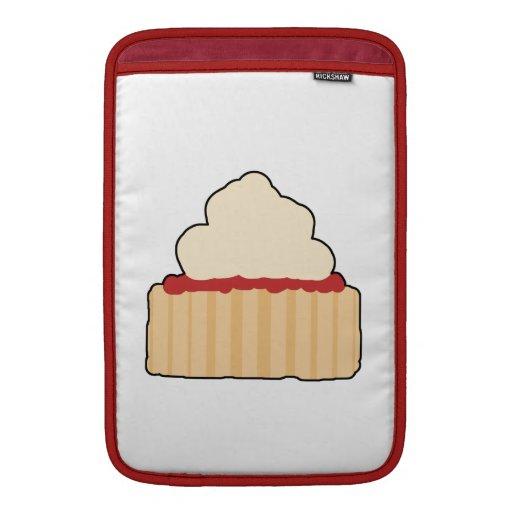 Jam and Cream Scone. MacBook Sleeves