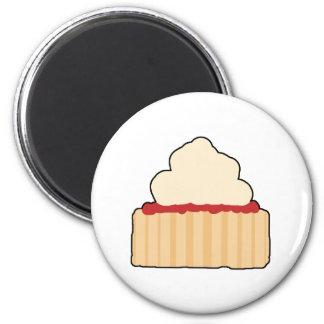 Jam and Cream Scone Magnets