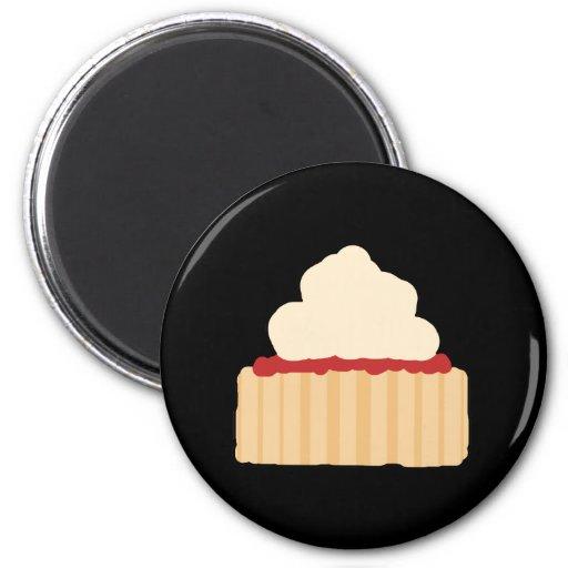 Jam and Cream Scone. Magnet