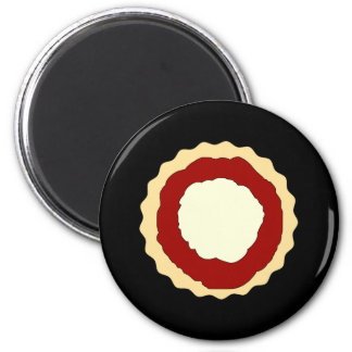 Jam and Whipped Cream Scone Magnet