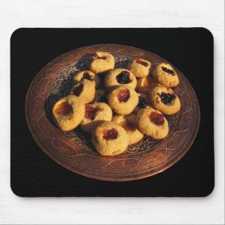 Jam Drop Cookies Mouse Pad