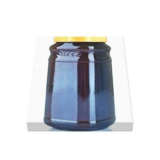Jam Jar Canvas Print
