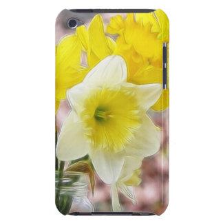 Jam Jar Vase Full Of Daffodils iPod Touch Case-Mate Case