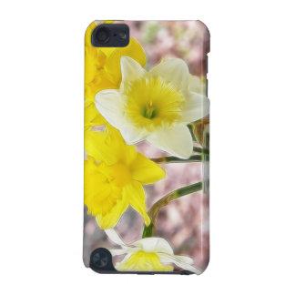 Jam Jar Vase Full Of Daffodils iPod Touch 5G Cover