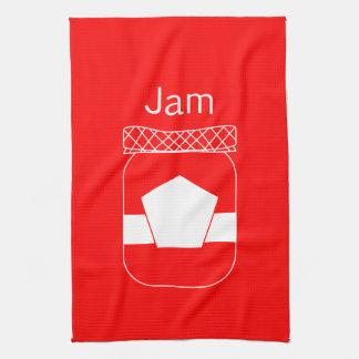 """Jam"" Kitchen Tea Towel"