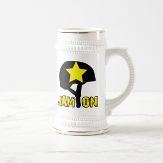Jam On 18 Oz Beer Stein