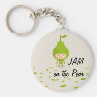 JAM on the Pear Keychain