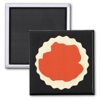 Jam Scone Graphic Fridge Magnet