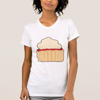 Jam Scone with Cream Topping. T Shirt