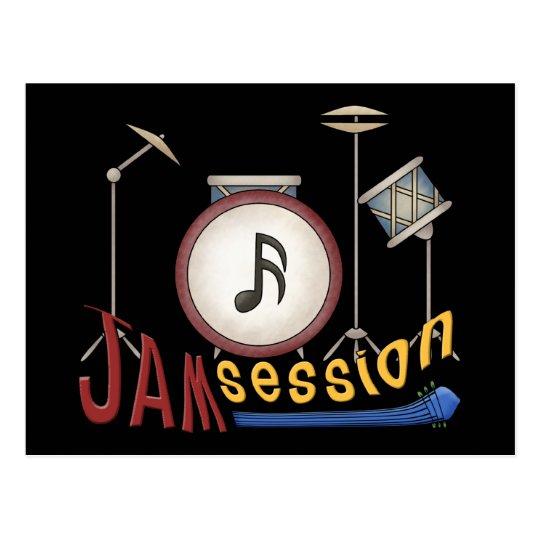 Jam Session Postcard