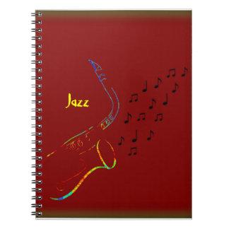 Jam Session Spiral Notebook