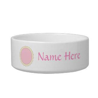 Jam Tart. Pale Pink. Bowl