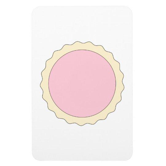 Jam Tart. Pale Pink. Magnet