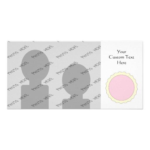 Jam Tart. Pale Pink. Photo Cards
