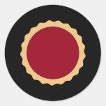 Jam Tart. Raspberry Red. Sticker