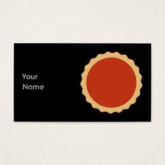 Jam Tart. Strawberry Red. Business Card