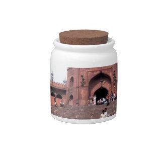 Jama Masjid in Delhi Candy Jar