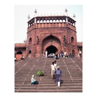 Jama Masjid in Delhi Personalized Letterhead