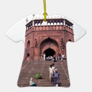 Jama Masjid in Delhi Christmas Ornament