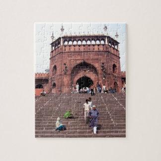 Jama Masjid in Delhi Jigsaw Puzzle