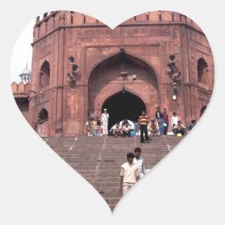 Jama Masjid in Delhi Sticker