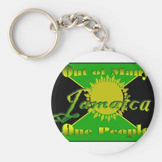 Jamaica1 Llavero Redondo Tipo Pin