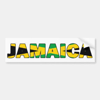 Jamaica 004 bumper sticker