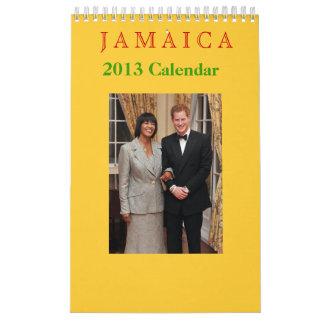 Jamaica 2013 Calendar