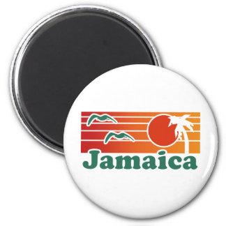 Jamaica 2 Inch Round Magnet