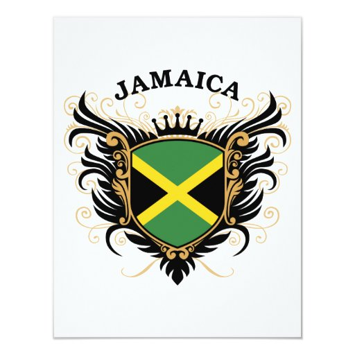 Jamaica 4.25x5.5 Paper Invitation Card