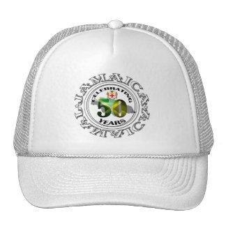 Jamaica 50 años de la independencia de gorra de la