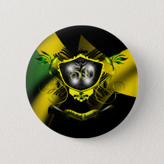 Jamaica 50 Celebration Button