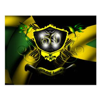 Jamaica 50 Celebration Postcard