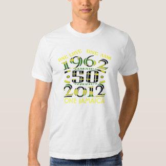 Jamaica 50 una camiseta de Jamaica del objetivo Playeras