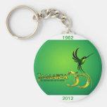 Jamaica 50th Key Ring Keychains