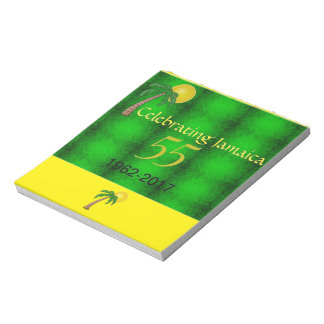 Jamaica 55th Independence Flip Over Notepad