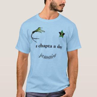 """Jamaica """"a chapta a day"""" T-shirt"""