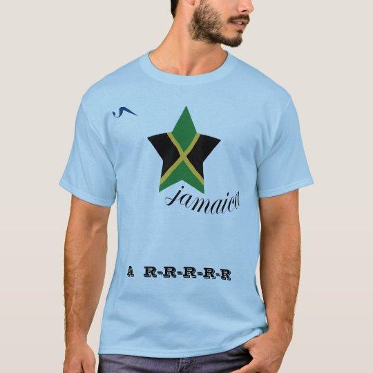 Jamaica A-R-R Blue T Shirt