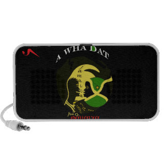 """Jamaica """"A Wha Dat"""" Doodle Travelling Speaker"""