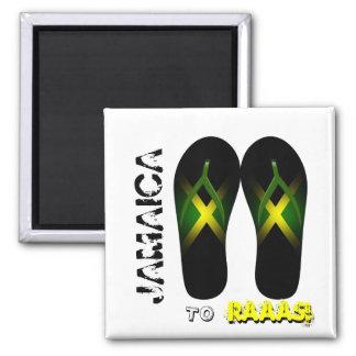 Jamaica al imán del deslizador de Raaas