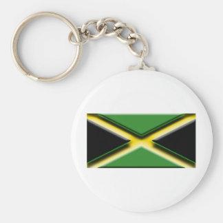Jamaica (bandera del artista) llavero redondo tipo pin