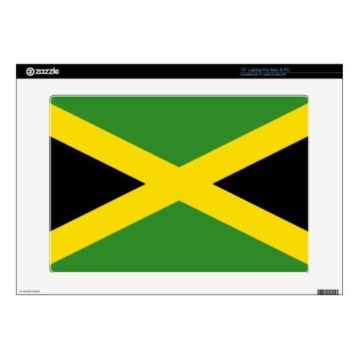 Jamaica - bandera jamaicana skins para 38,1cm portátil