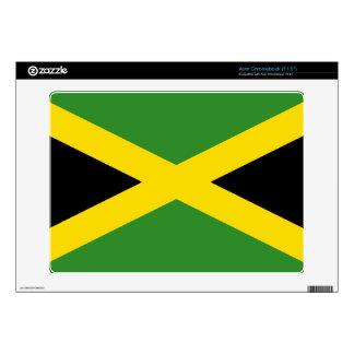 Jamaica - bandera jamaicana skins para acer chromebook