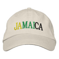 Jamaican Baseball Caps